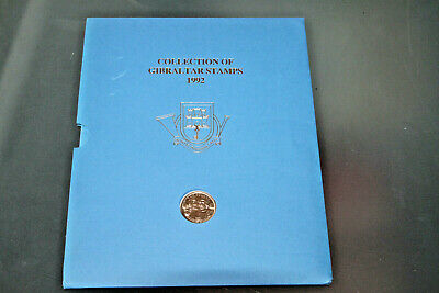 Gibraltar 1992 Year Book Colln With £2 Coin Encapsulated - Ltd Edition Of 3000
