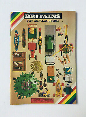 Britains Toy Catalogue 1983 - Katalog Prospekt