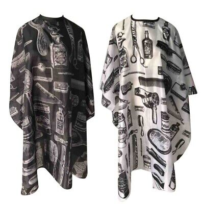 Adult Salon Hair Cutting Hairdressing Cape Pro Hairdresser Barber Gown Cover NEW
