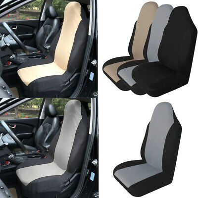 Auto Seat Cover Front Cushion Black Line Universal Car Chair Accessories UK