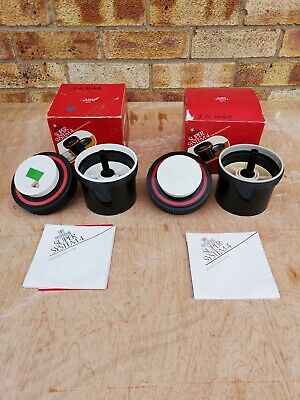 2 x  Paterson Super System 4 Film Tanks Boxed with Instructions VGC