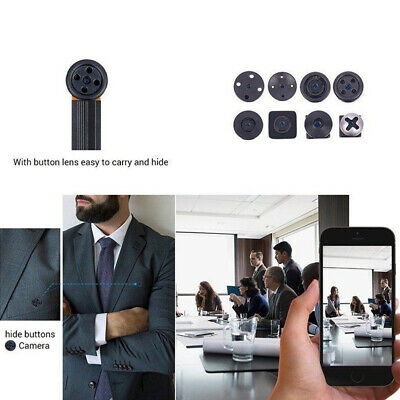 Mini caméra IP de sécurité WIFI sans fil 1080P HD PET Nanny webcam espion DVR