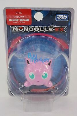 Takara Tomy Pokemon Moncolle-EX Figure 63 Jigglypuff Pink color Mini Figure