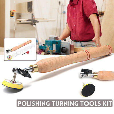 Wood Bowl Sander Sanding Polishing Tool With Sanding Disc for Lathe Wood Turning