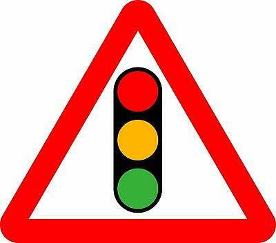 Traffic signals Road safety sign