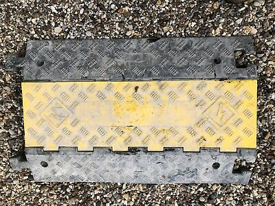 3 Channel Speed Bump Cable Protector, Heavy Duty