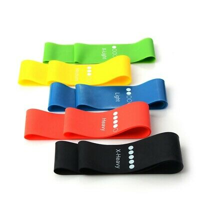 Resistance Elastic Training Rubber Band Stretch Exercise Fitness for Yoga Pilate