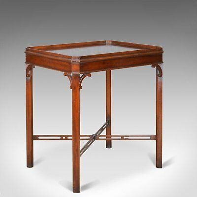 Side Table in the Georgian Taste, Arthur Brett and Sons, English, Mahogany C21st