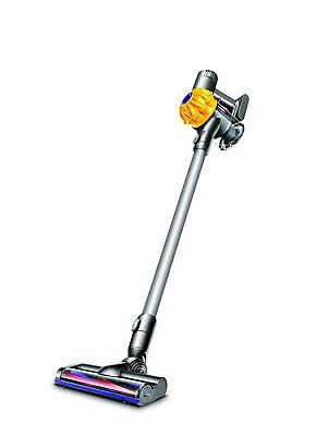 RB27 Dyson V6 Cord Free Extra Bagless Vacuum Cleaner Yellow Cyclone Bagless