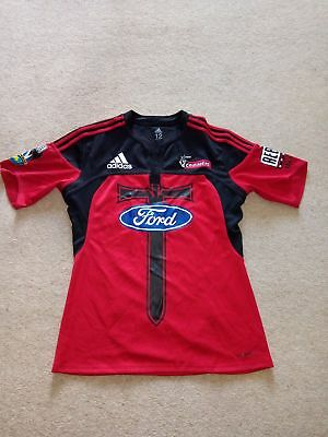 Adidas Crusaders Rugby Jersey 2009 Player Issue Size 12 (XL/XXL)