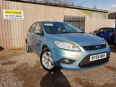 Ford Focus Style 1.6 Manual Petrol Blue 5 Door Hatchback 2009/58 Reg