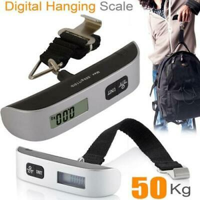 Portable Travel 110lb 50kg Digital Suitcase Hanging Luggage Scale Suitcase UK