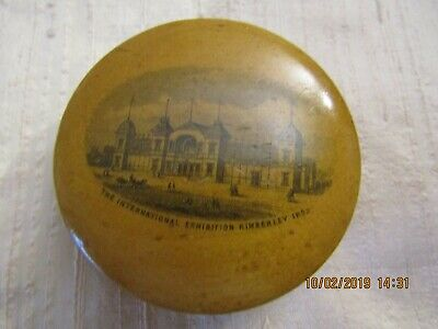 Wooden Mauchline Ware - Beautiful Box With South African Connections - 1892