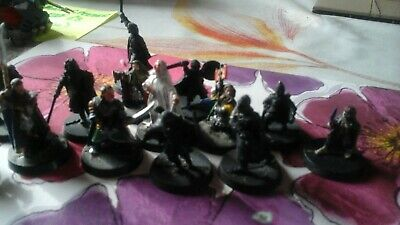 Warhammer Lord of the Rings 14 Metal Figures