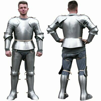 Vintage Antique Medieval Knight Full Body Armour Suit of Gothic