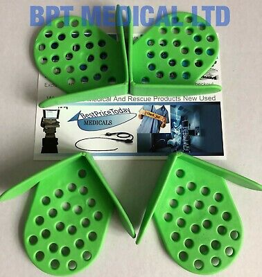 Velmed 7100 Stopper Foot Corner Shield for surgical tray medical surgical LOT 4