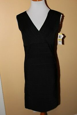 2262f602967 NWT INC International Concepts black bandage bodycon dress size M