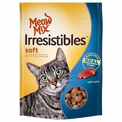 Meow Mix Irresistibles Soft Tuna Treats for Cats 3 ounces