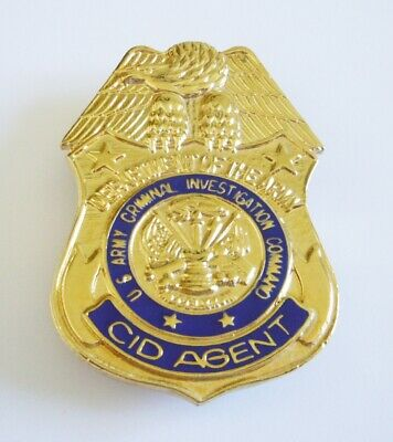 Army Criminal Investigation Command Cid Agent