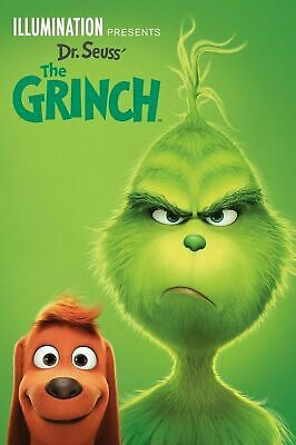 The Grinch (NEW SEALED 2019 DVD) FAMILY FUN FOR EVERYONE  - FREE SHIPPING!!!