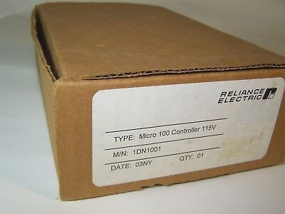 NEW Reliance Electric Micro 100 DC Drive Part # 1DN1001 Micro Controller 115v (4