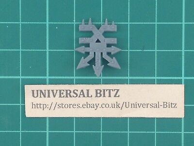 AOS Slaves to Darkness Chaos Warriors Warshrine Khorne Icon Symbol Y1 C