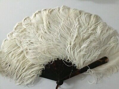 Antique Large Ostrich Fan