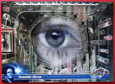 Terry Nation's BLAKE'S 7 - Card #30 - Inside Orac - Unstoppable Cards 2013