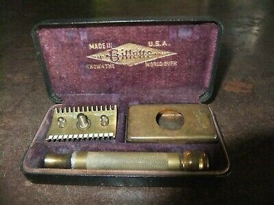 ancien rasoir gillette made usa