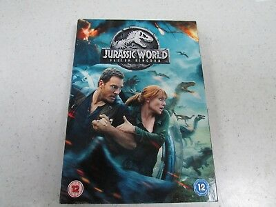 Jurassic World Fallen Kingdom DVD - New and Sealed Fast and Free Delivery