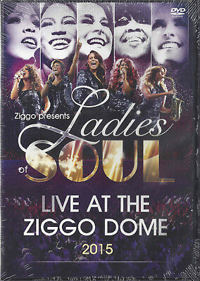 Ladies of Soul - Live at the Ziggodome 2015  dvd Glennis Grace, Candy Dulfer