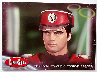 CAPTAIN SCARLET, Gerry Anderson's SUPERMARIONATION - Promo Card SMP5 - Cards Inc