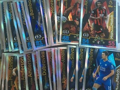 Match Attax 2018/19 Pick 15 From Over 250 18/19