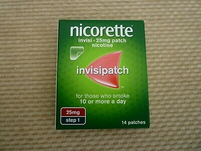 nicorette invisipatch 25mg 14 patches