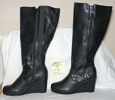 31cc3492fac DOLCE VITA WOMENS Cassius Black Ankle Boots Size 13 (167688 ...