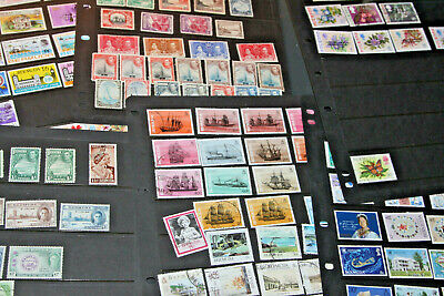 Bermuda - Mint And Used Collection On 6 Pages Of Hagners - All Eras