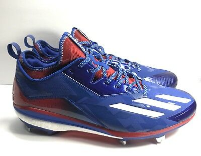 ad5dffa278bb adidas Boost Icon 2.0 Size 12.5 Kris Bryant Men s Metal Baseball Cleats  BY3318