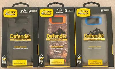 New OEM Otterbox Defender Screenless Case for Samsung Galaxy S8 - No Holster -^