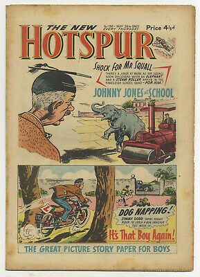 The Hotspur 136 (May 26 1962) high grade copy