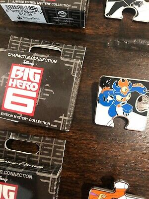 Disney Character Connection Big Hero 6 Mystery Puzzle Pin LE 1100 - Fred