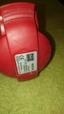 MK Red 16 Amp 5 Pin  Socket Switch 3p N E Weatherproof Ip44 16a