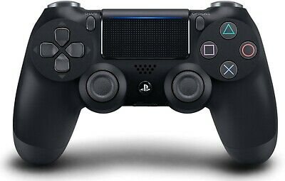DualShock 4 Wireless Controller for PlayStation 4-Jet Black by Sony