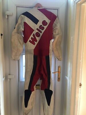 Weise Retro Motorcycle Race Suit