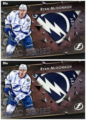 2X 18-19 RELIC MARATHON AWAY RYAN MCDONAGH Topps NHL Skate Digital Card