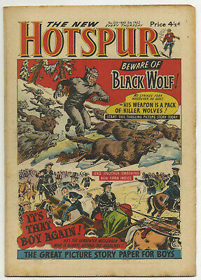 The Hotspur 133 (May 5 1962) high grade copy