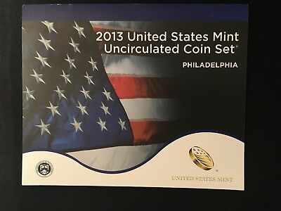 2013 United States Mint  Coin Set Uncirculated Philadelphia