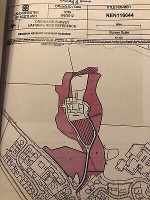 Plot of land for sale in Bridge Of Weir, B-listed, Scotland - Reduced to £15k !!