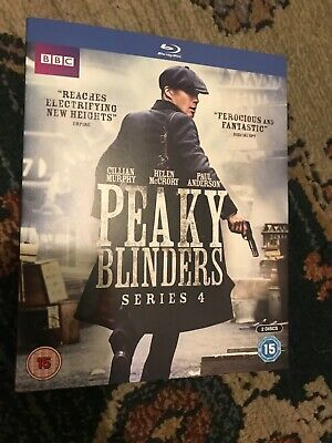 PEAKY BLINDERS SERIES 4 - BLU RAY, [2018]The complete fourth series [BBC]