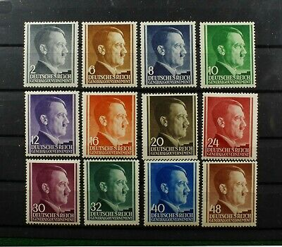 German Occupation Stamps - Poland. General Government. Adolph Hitler.1941.