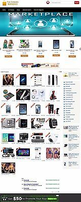 Online Auction Marketplace Website For Sale! Responsive Mobile Friednly Design